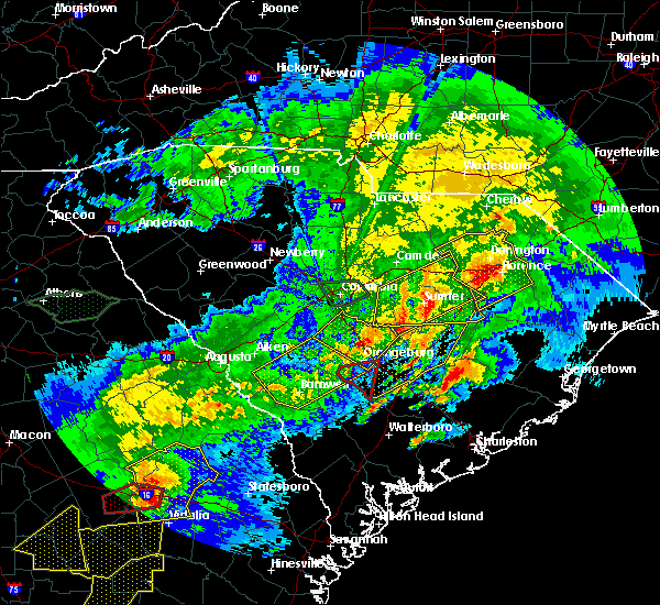 Radar Image for Severe Thunderstorms near Oswego, SC at 4/5/2017 4:23 PM EDT