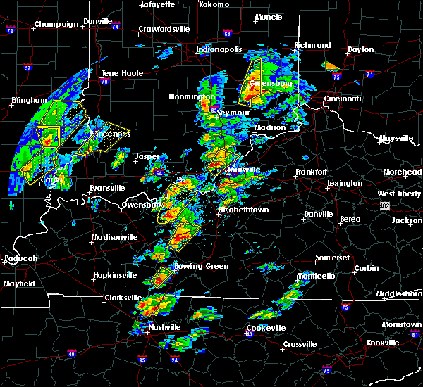 Radar Image for Severe Thunderstorms near Henryville, IN at 4/5/2017 4:49 PM EDT