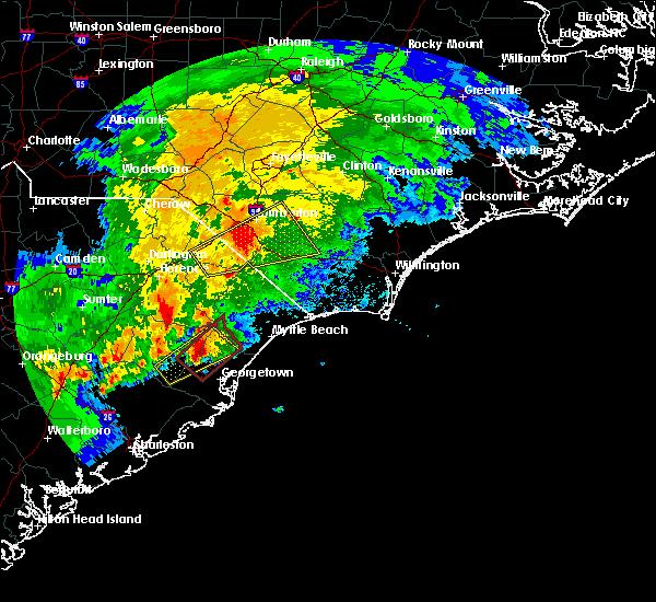 Radar Image for Severe Thunderstorms near Bucksport, SC at 4/5/2017 5:27 PM EDT