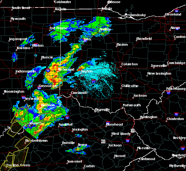 Radar Image for Severe Thunderstorms near Oxford, OH at 4/5/2017 5:31 PM EDT