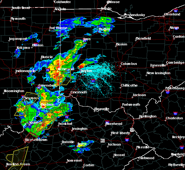 Radar Image for Severe Thunderstorms near Oxford, OH at 4/5/2017 5:44 PM EDT