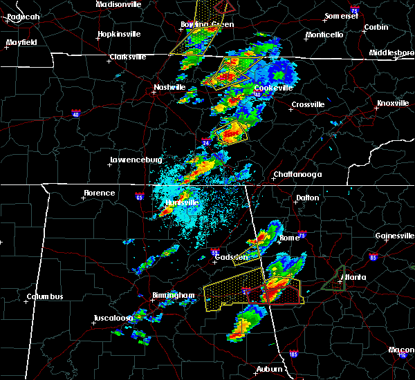 Radar Image for Severe Thunderstorms near Morrison, TN at 4/5/2017 4:54 PM CDT