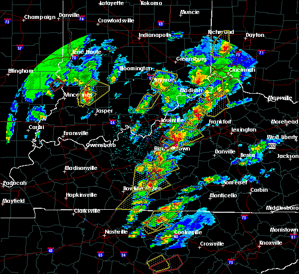 Radar Image for Severe Thunderstorms near Buffalo, KY at 4/5/2017 6:01 PM EDT