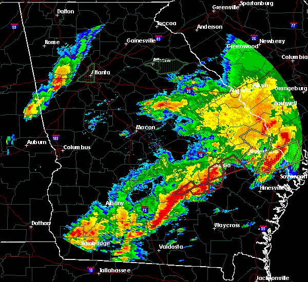 Radar Image for Severe Thunderstorms near Graham, GA at 4/5/2017 6:24 PM EDT