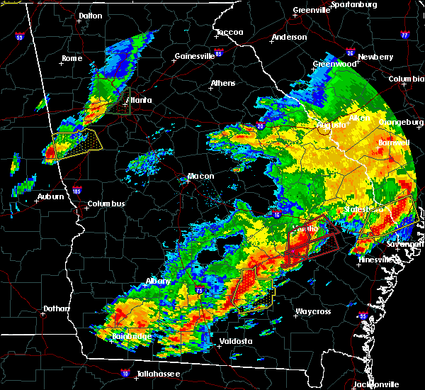 Radar Image for Severe Thunderstorms near Graham, GA at 4/5/2017 6:41 PM EDT