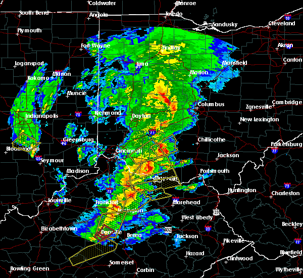 Radar Image for Severe Thunderstorms near Martinsville, OH at 4/5/2017 7:41 PM EDT