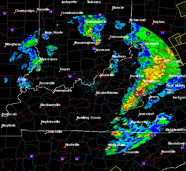 Radar Image for Severe Thunderstorms near Liberty, KY at 4/5/2017 7:54 PM EDT