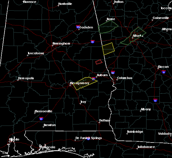 Radar Image for Severe Thunderstorms near Fredonia, AL at 4/5/2017 8:52 PM CDT