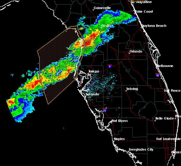 Radar Image for Severe Thunderstorms near Floral City, FL at 4/6/2017 4:12 AM EDT