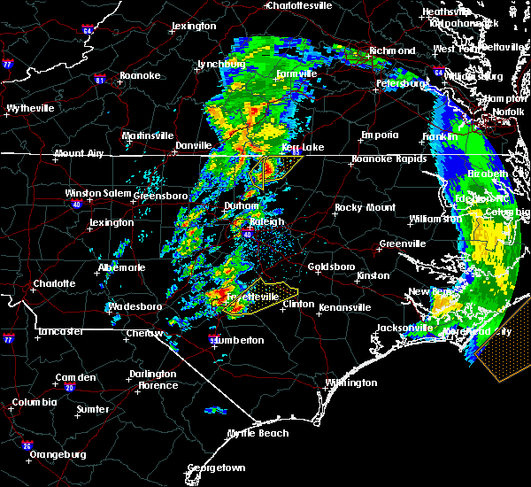 Radar Image for Severe Thunderstorms near Norlina, NC at 4/6/2017 8:13 AM EDT