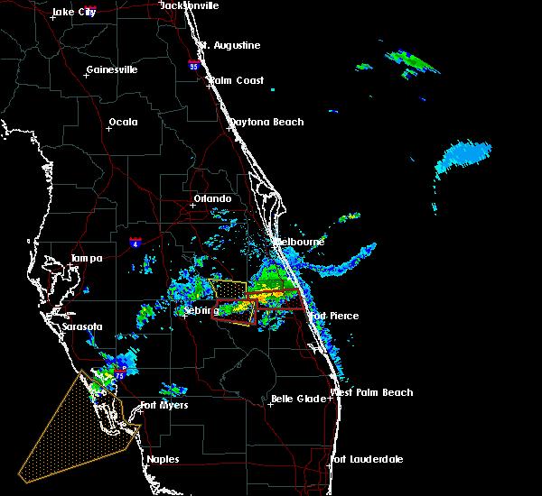 Map Of Vero Beach Florida.Interactive Hail Maps Hail Map For Vero Beach South Fl
