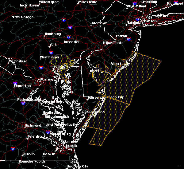 Radar Image for Severe Thunderstorms near Riverside, MD at 4/6/2017 2:52 PM EDT