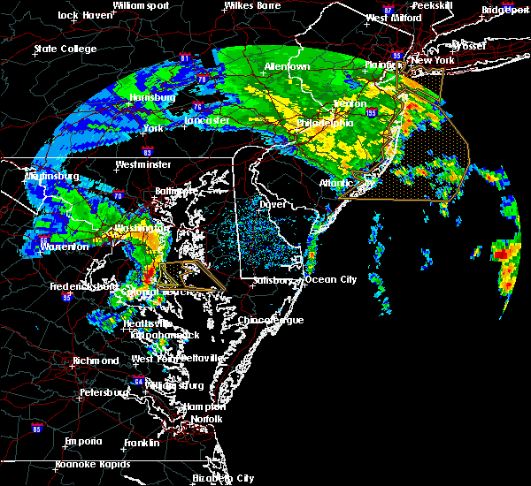 Radar Image for Severe Thunderstorms near St. Leonard, MD at 4/6/2017 4:38 PM EDT