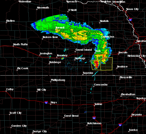 Radar Image for Severe Thunderstorms near Friend, NE at 4/9/2017 8:19 PM CDT