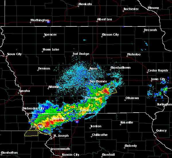 Radar Image for Severe Thunderstorms near Harvey, IA at 4/10/2017 12:36 AM CDT