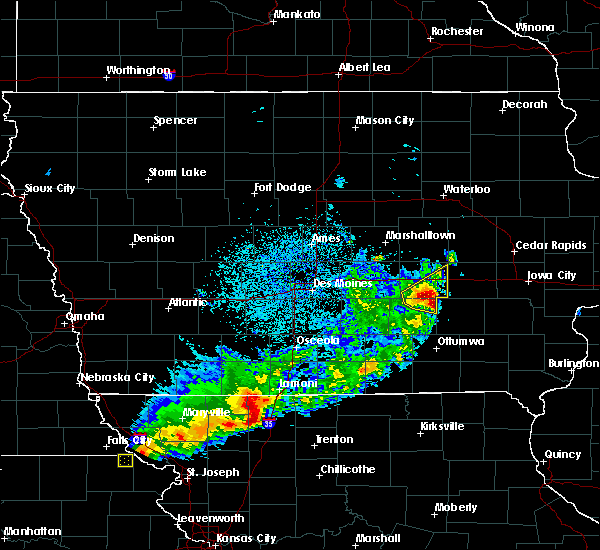 Radar Image for Severe Thunderstorms near Hartwick, IA at 4/10/2017 1:06 AM CDT