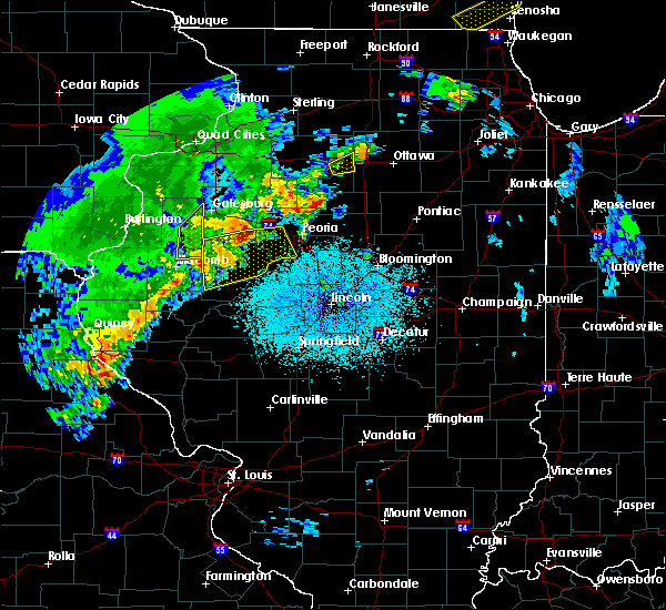 Radar Image for Severe Thunderstorms near Dunfermline, IL at 4/10/2017 4:59 AM CDT