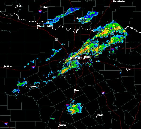 Radar Image for Severe Thunderstorms near Bonham, TX at 4/10/2017 2:53 PM CDT