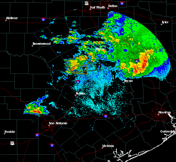 Radar Image for Severe Thunderstorms near Copperas Cove, TX at 4/11/2017 3:55 AM CDT