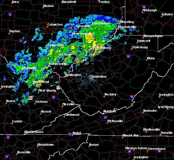 Radar Image for Severe Thunderstorms near Mason, OH at 4/11/2017 5:29 PM EDT
