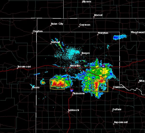 Radar Image for Severe Thunderstorms near Dimmitt, TX at 4/14/2017 9:20 PM CDT