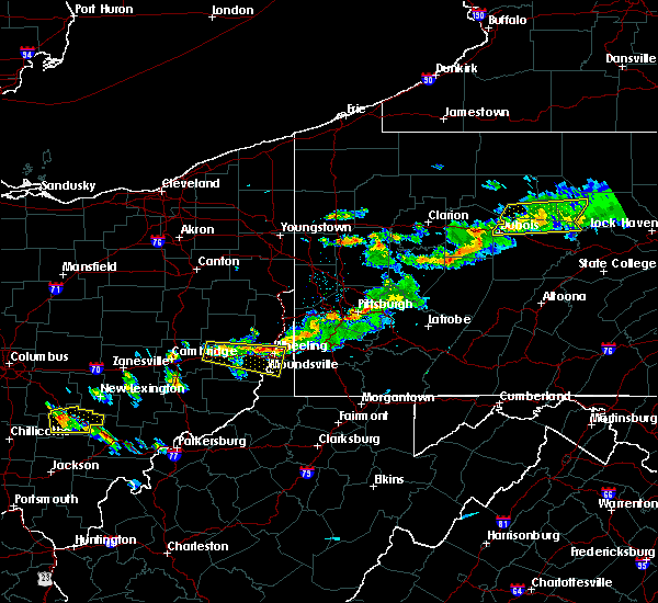 Radar Image for Severe Thunderstorms near Lafferty, OH at 4/16/2017 5:36 PM EDT