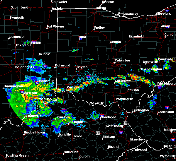 Radar Image for Severe Thunderstorms near Logan, OH at 4/16/2017 5:55 PM EDT