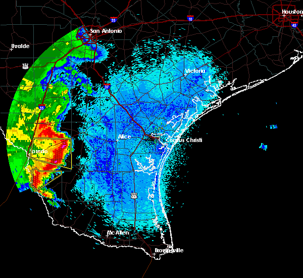 Radar Image for Severe Thunderstorms near Ramireno, TX at 4/17/2017 3:11 AM CDT
