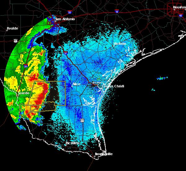Radar Image for Severe Thunderstorms near Ramireno, TX at 4/17/2017 3:34 AM CDT