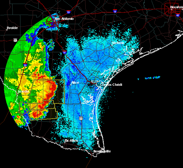 Radar Image for Severe Thunderstorms near Ramireno, TX at 4/17/2017 3:59 AM CDT
