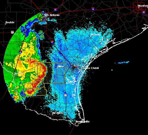 Radar Image for Severe Thunderstorms near Las Lomitas, TX at 4/17/2017 4:05 AM CDT
