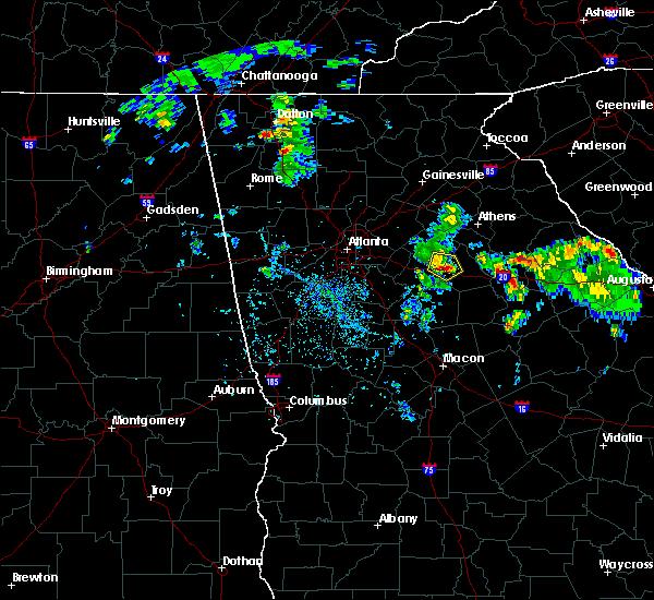 Radar Image for Severe Thunderstorms near Rutledge, GA at 4/18/2017 5:32 PM EDT