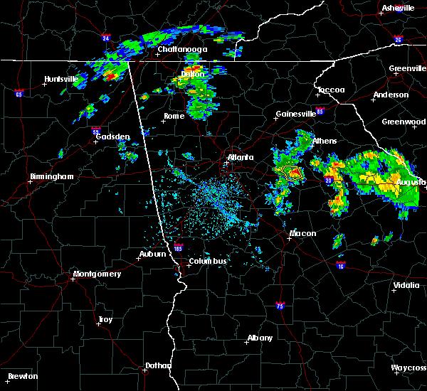Radar Image for Severe Thunderstorms near Rutledge, GA at 4/18/2017 5:56 PM EDT