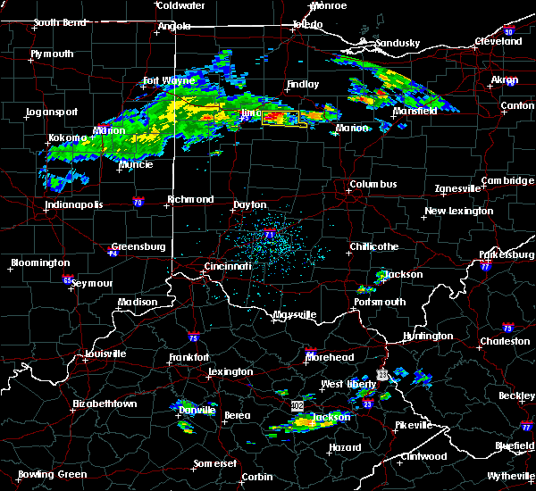 Radar Image for Severe Thunderstorms near Alger, OH at 4/19/2017 6:24 PM EDT