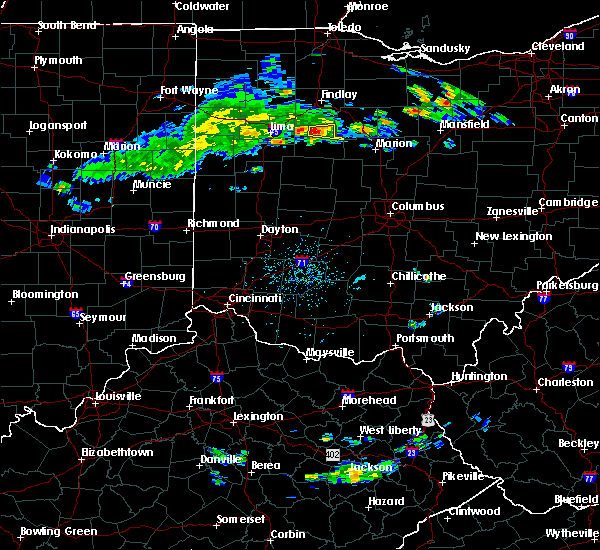 Radar Image for Severe Thunderstorms near Patterson, OH at 4/19/2017 6:40 PM EDT