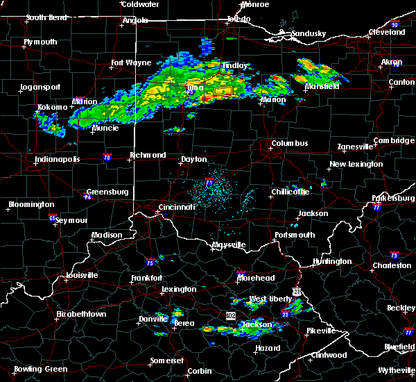 Radar Image for Severe Thunderstorms near Patterson, OH at 4/19/2017 6:59 PM EDT