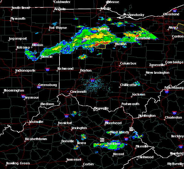 Radar Image for Severe Thunderstorms near Ridgeway, OH at 4/19/2017 7:20 PM EDT