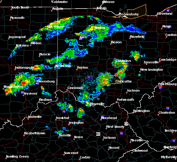 Radar Image for Severe Thunderstorms near Good Hope, OH at 4/20/2017 6:38 PM EDT
