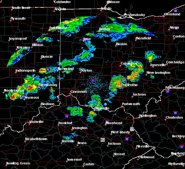 Radar Image for Severe Thunderstorms near Clarksburg, OH at 4/20/2017 6:59 PM EDT
