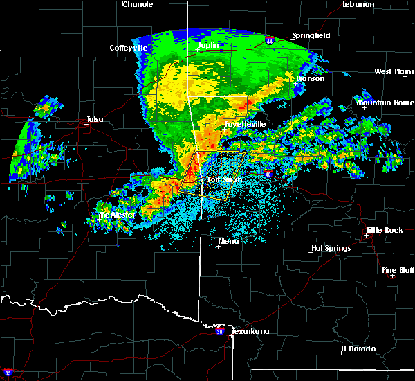 Radar Image for Severe Thunderstorms near Short, OK at 4/21/2017 6:39 AM CDT