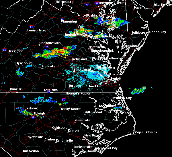Radar Image for Severe Thunderstorms near Wyndham, VA at 4/21/2017 6:34 PM EDT