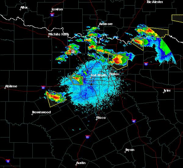 Radar Image for Severe Thunderstorms near Honey Grove, TX at 4/21/2017 8:52 PM CDT