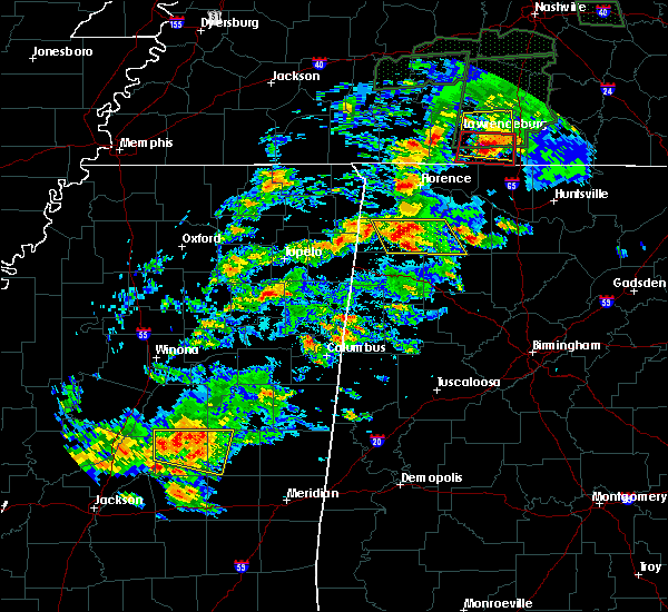 Radar Image for Severe Thunderstorms near Russellville, AL at 4/22/2017 4:04 PM CDT