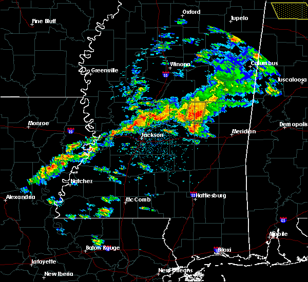 Radar Image for Severe Thunderstorms near Pearl River, MS at 4/22/2017 4:28 PM CDT