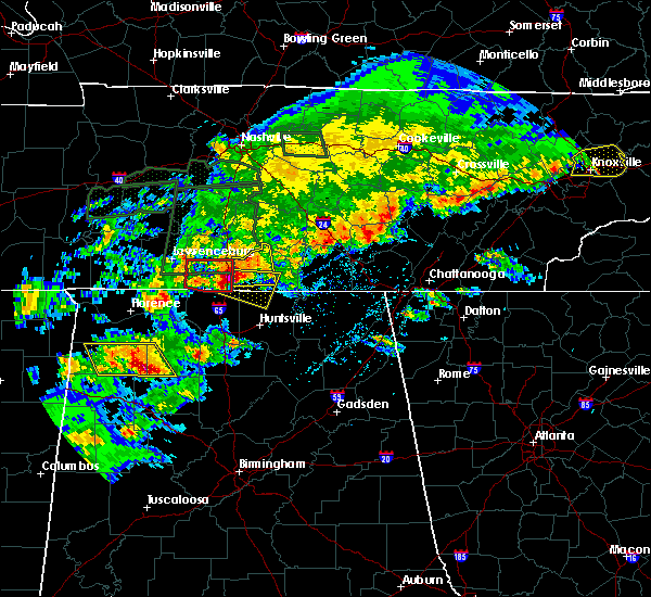 Radar Image for Severe Thunderstorms near Ardmore, AL at 4/22/2017 4:30 PM CDT