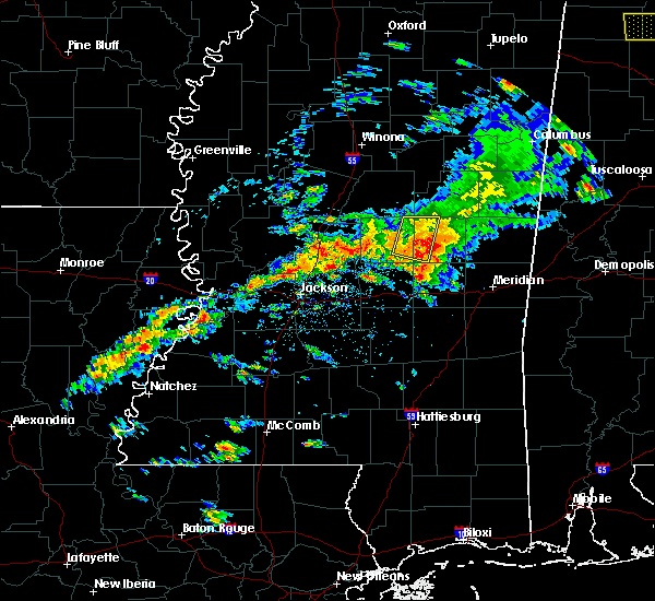 Radar Image for Severe Thunderstorms near Pearl River, MS at 4/22/2017 4:40 PM CDT