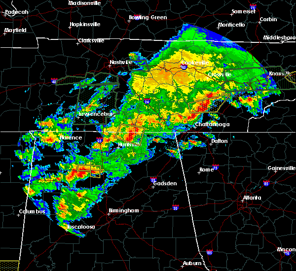 Radar Image for Severe Thunderstorms near Hytop, AL at 4/22/2017 5:26 PM CDT