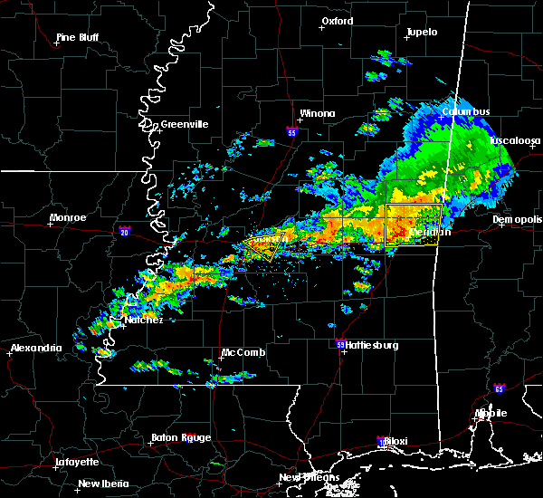 Radar Image for Severe Thunderstorms near Brandon, MS at 4/22/2017 5:33 PM CDT