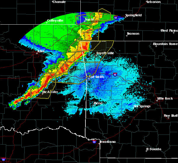 Radar Image for Severe Thunderstorms near Short, OK at 4/26/2017 12:53 AM CDT
