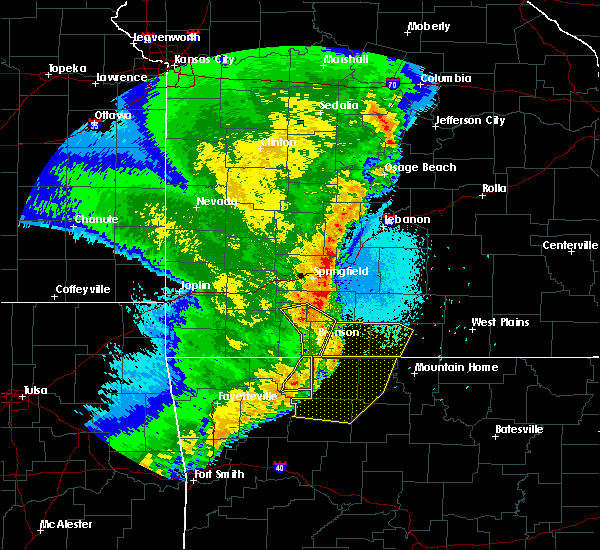 Radar Image for Severe Thunderstorms near Alpena, AR at 4/26/2017 2:06 AM CDT